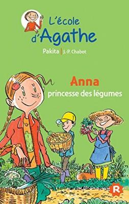 """Afficher """"L'école d'Agathe n° 38 Anna princesse des légumes"""""""