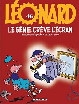 """Afficher """"Léonard n° 46 Le génie crève l'écran"""""""