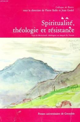 """Afficher """"Spiritualité, théologie et Résistance"""""""
