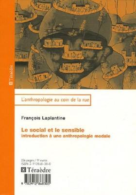 """Afficher """"Le social el le sensible Introduction à une anthropologie modale"""""""