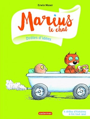 vignette de 'Marius le chat n° 1<br /> Drôles d'idées ! (Erwin Moser)'