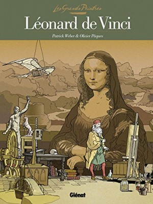 Couverture de Les grands peintres Léonard de Vinci