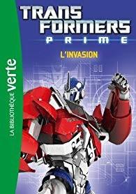 "Afficher ""Transformers prime n° 4L'invasion"""