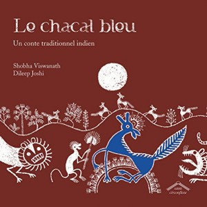 vignette de 'Le chacal bleu (Shobha Viswanath)'
