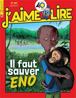 """Afficher """"J'aime lire n° 459 J'aime lire  Sur la trace du blaireau perdu - avril 2015"""""""
