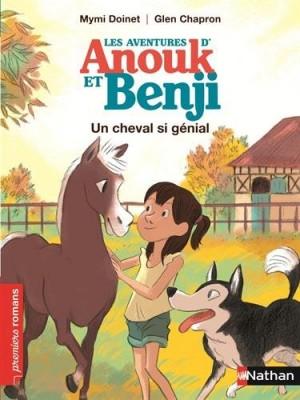 """Afficher """"Les aventures d'Anouk et BenjiUn cheval si génial"""""""