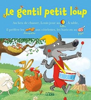 """Afficher """"Lire avec les images Le gentil petit loup"""""""