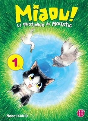 """Afficher """"Miaou ! Le quotidien de Moustic n° 1"""""""