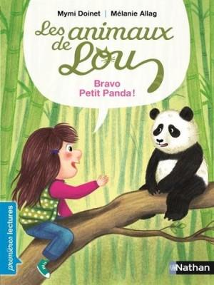 """Afficher """"Les animaux de Lou Bravo petit panda"""""""