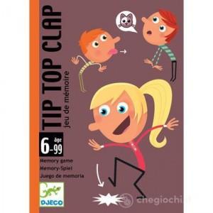 Couverture de Tip Top Clap : Jeu de mémoire