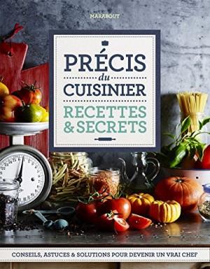 """Afficher """"Précis du cuisinier"""""""