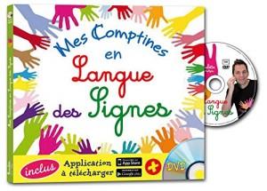 """Afficher """"Mes comptines en langue des signes"""""""