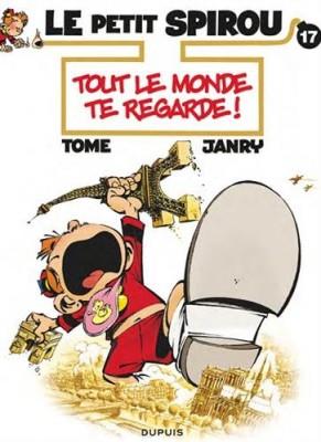 """Afficher """"Le Petit Spirou n° 17 Tout le monde te regarde !"""""""