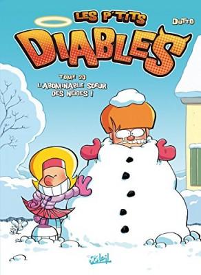 """Afficher """"P'tits diables (Les ) n° 20 abominable soeur des neiges (L')"""""""