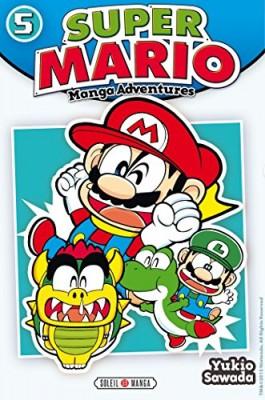 """Afficher """"Super Mario : manga adventures n° 5 Super Mario"""""""