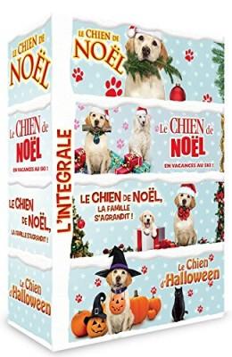 """Afficher """"Chien de Noël (Le) + Le chien de Noël - En vacances au ski ! + Le chien de Noël - La famille s'agrandit ! + Le chien d'Halloween"""""""