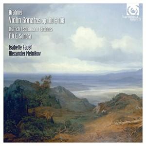 """Afficher """"Violin sonatas, op. 100 & 108"""""""