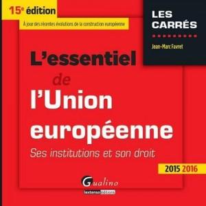 """Afficher """"L'essentiel de l'Union européenne"""""""