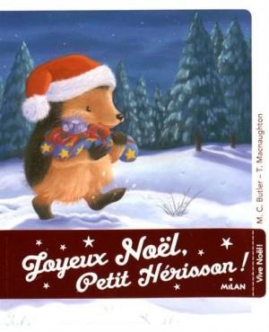 """Afficher """"Joyeux Noël Petit hérisson !"""""""