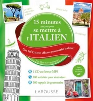 """Afficher """"15 minutes par jour pour se mettre à l'italien"""""""