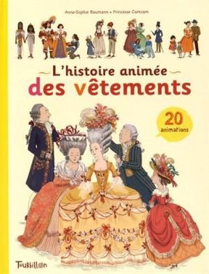 """Afficher """"L'Histoire animée des vêtements"""""""