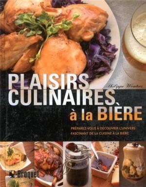 vignette de 'Plaisirs culinaires à la bière (Philippe Wouters)'