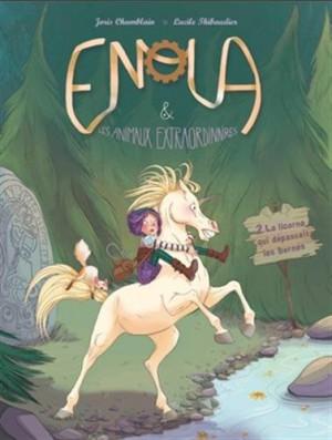 """Afficher """"Enola & les animaux extraordinaires n° 2La licorne qui dépassait les bornes"""""""
