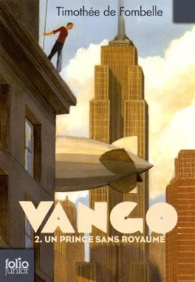 vignette de 'Vango n° 2<br />Un prince sans royaume (Timothée de Fombelle)'