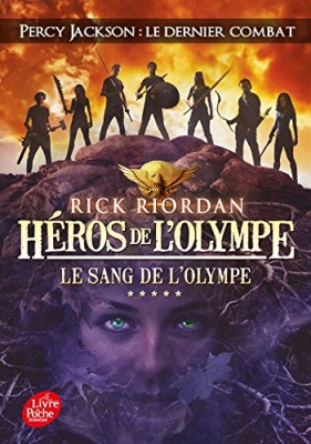 """Afficher """"Héros de l'Olympe n° 5 Le sang de l'Olympe"""""""