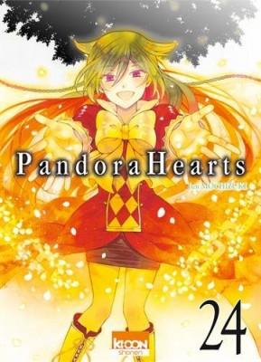 """Afficher """"Pandora Hearts n° 24"""""""