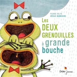 vignette de 'Les deux grenouilles à grande bouche (Pierre Delye)'
