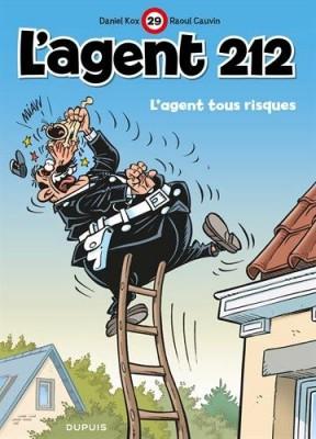 """Afficher """"L'agent 212 n° 29 L'agent tous risques"""""""