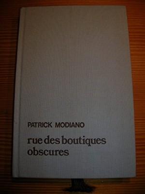 """Afficher """"Rue des boutiques obscures"""""""