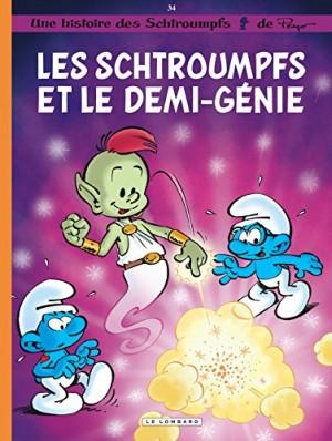 """Afficher """"Une histoire des Schtroumpfs n° 34 Les Schtroumpfs et le demi-génie"""""""