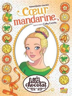 "Afficher ""Les filles au chocolat n° 3 Coeur mandarine"""
