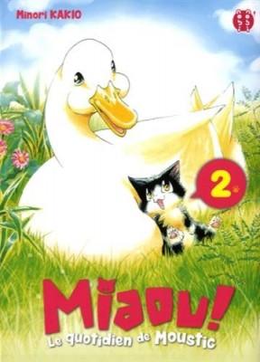 """Afficher """"Miaou ! Le quotidien de Moustic n° 2"""""""