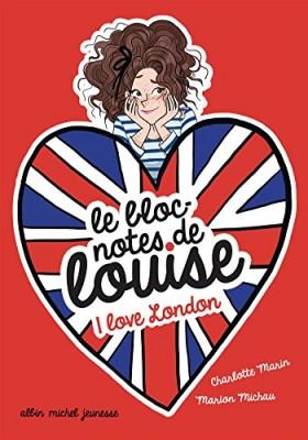 """Afficher """"Le bloc-notes de notes Louise n° 3 I love London"""""""