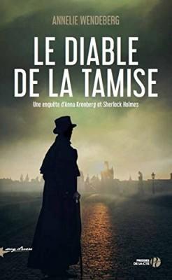 """Afficher """"Une enquête d'Anna Kronberg et Sherlock Holmes Le diable de la Tamise"""""""