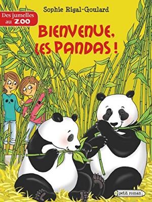 """Afficher """"Des jumelles au zoo Bienvenue les pandas !"""""""