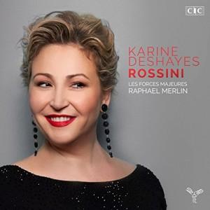 "Afficher ""Récital Deshayes, Karine, mezzo-soprano, Gioachino Rossini"""