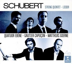 """Afficher """"String quintet, Lieder"""""""