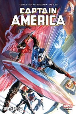 """Afficher """"Captain America (Marvel Deluxe - 2011) n° 6Captain AmericaUn an après"""""""