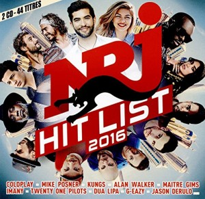 "Afficher ""NRJ hit list 2016"""