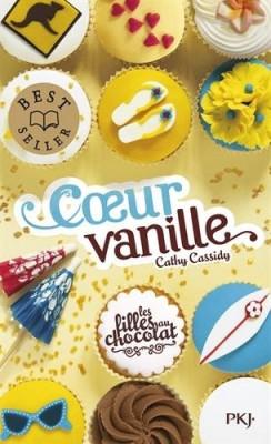 """Afficher """"Les filles au chocolat n° 05 Coeur vanille"""""""