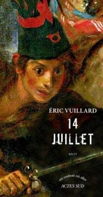 vignette de '14 Juillet (Eric Vuillard)'