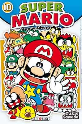 """Afficher """"Super Mario : manga adventures n° 10 Super Mario"""""""