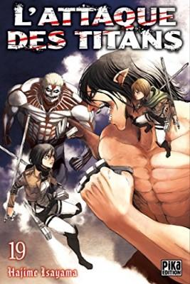 """Afficher """"L'attaque des titans n° 19"""""""