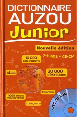 "Afficher ""Dictionnaire Auzon junior"""
