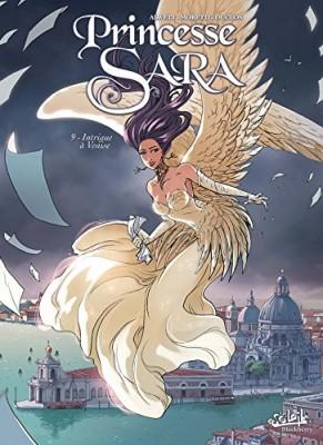 Couverture de Princesse Sara n° 9 Intrigue à Venise