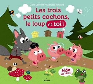 """Afficher """"Les trois petits cochons, le loup et toi !"""""""